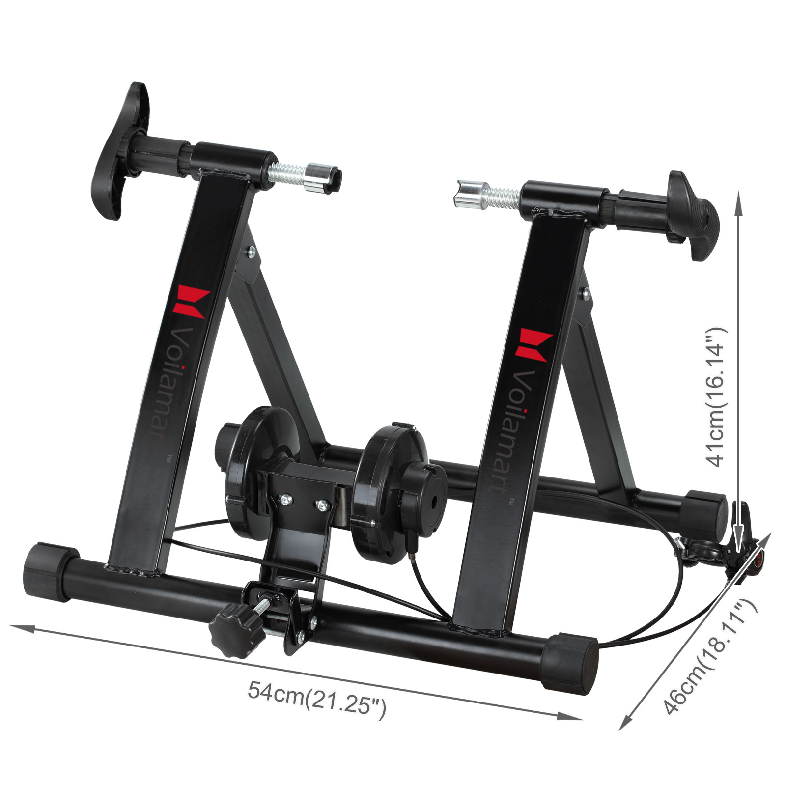Indoor Bicycle Trainer Stand Bike Cycling Magnetic Roller