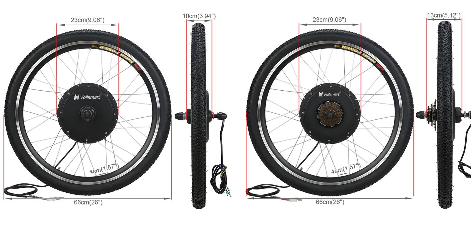 what size spokes for 26 wheel