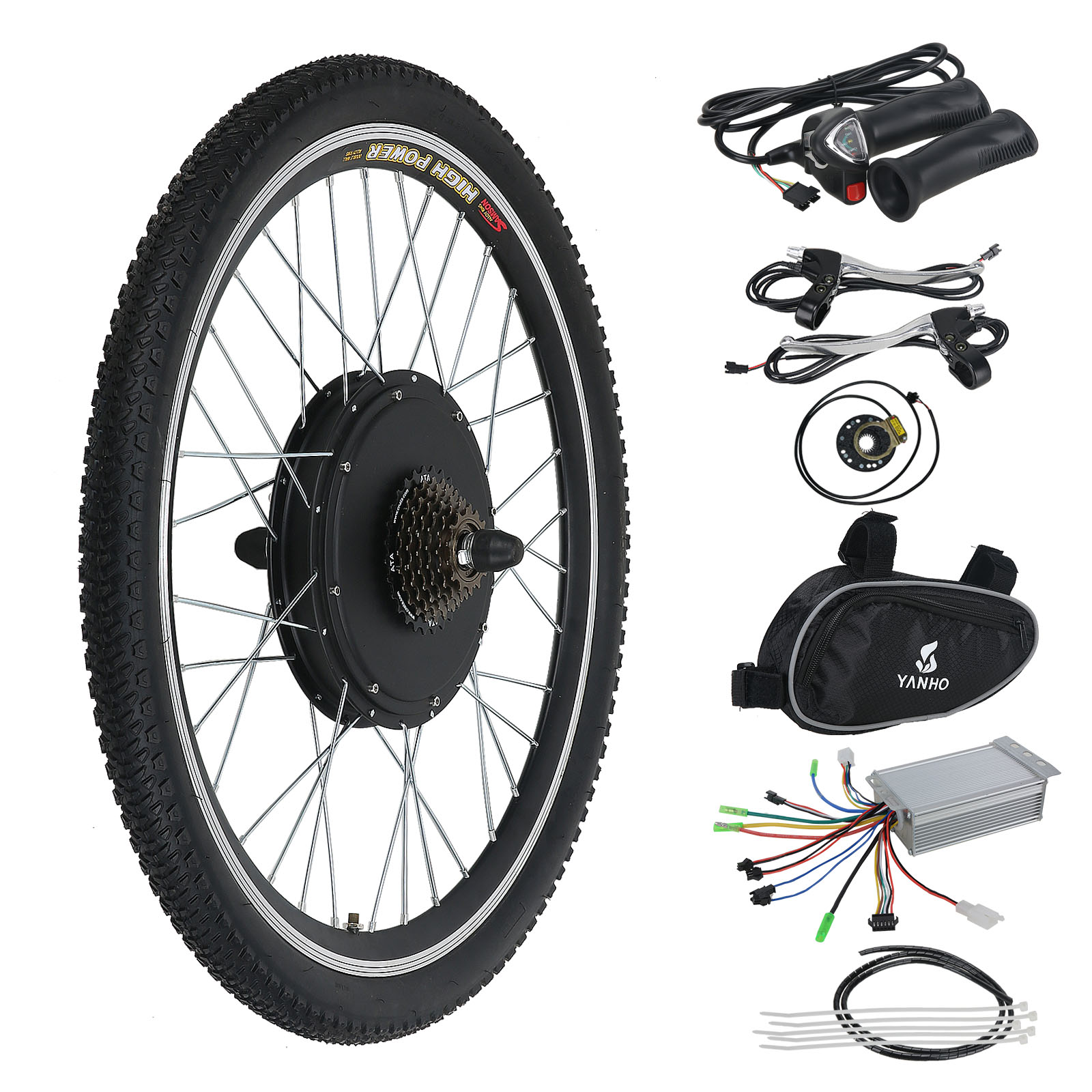 36v 500w electric bicycle e bike motor conversion kit rear wheel cycling hub new ebay. Black Bedroom Furniture Sets. Home Design Ideas