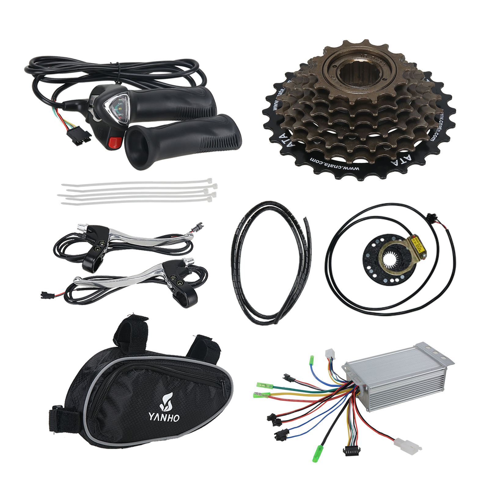 Pd750 Electric Motor Kit: 36V 500W Electric Bicycle E Bike Motor Conversion Kit Rear
