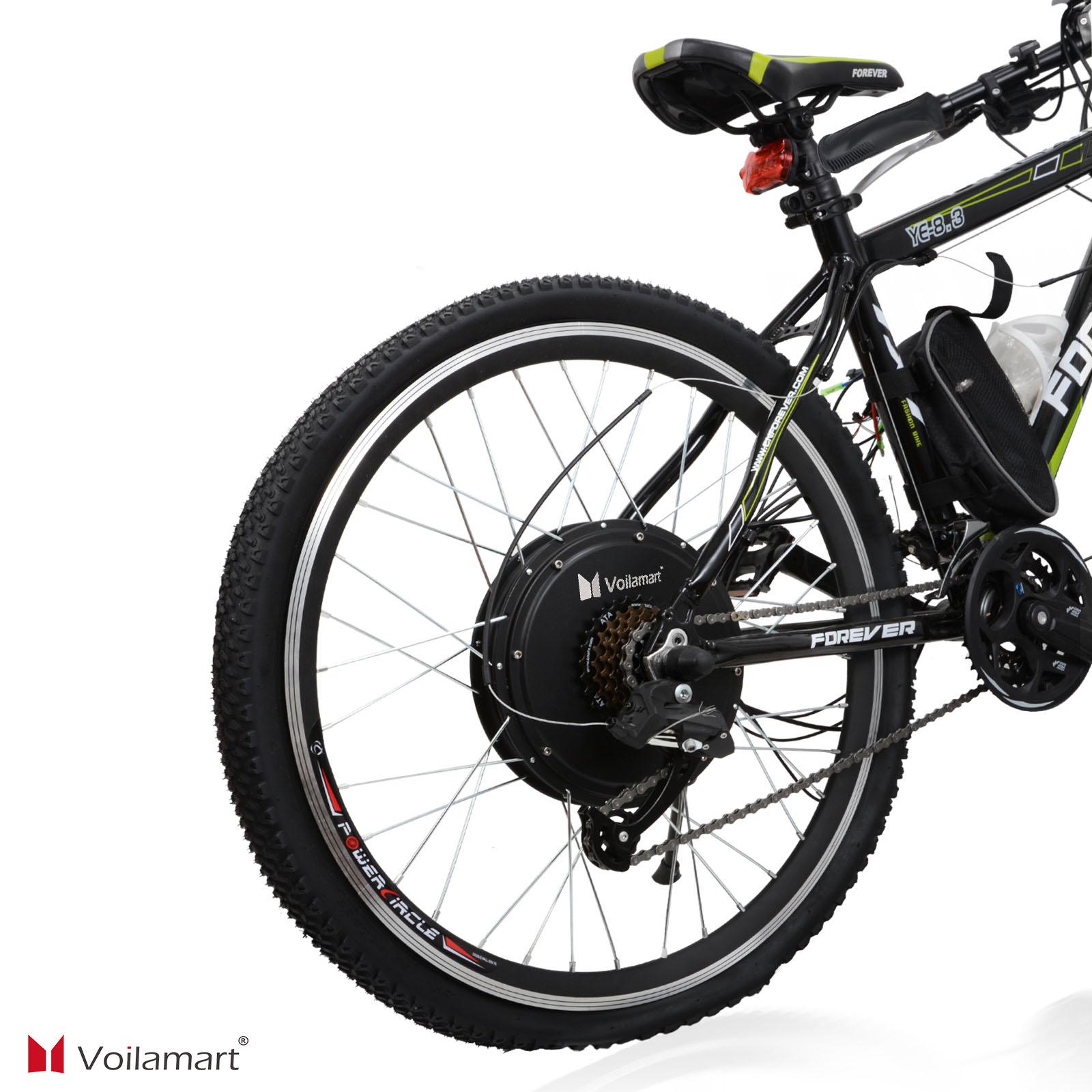 48v electric bicycle bike motor conversion kit 1000w 26. Black Bedroom Furniture Sets. Home Design Ideas