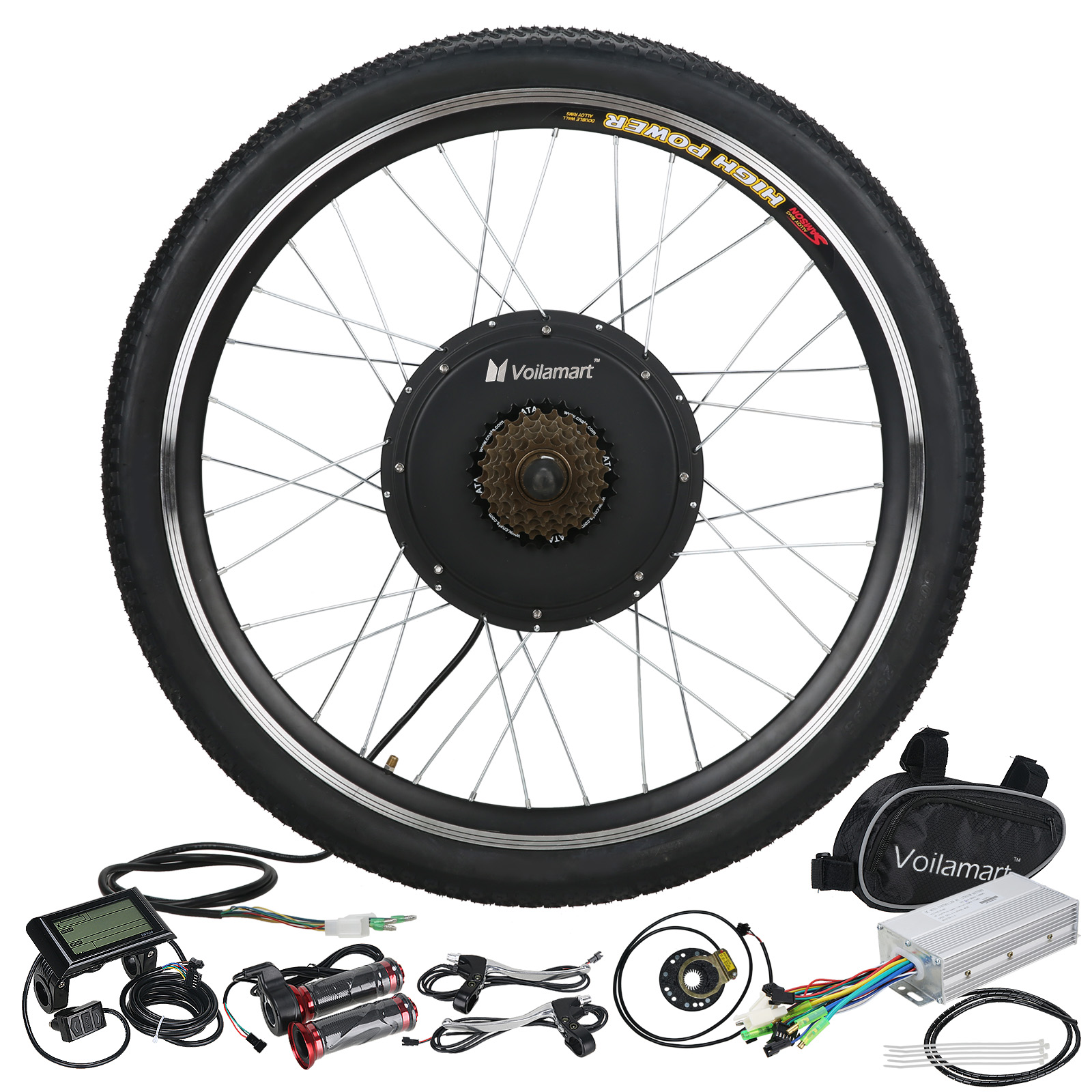 electric bicycle kit 48v 1000w rear wheel e bike motor. Black Bedroom Furniture Sets. Home Design Ideas
