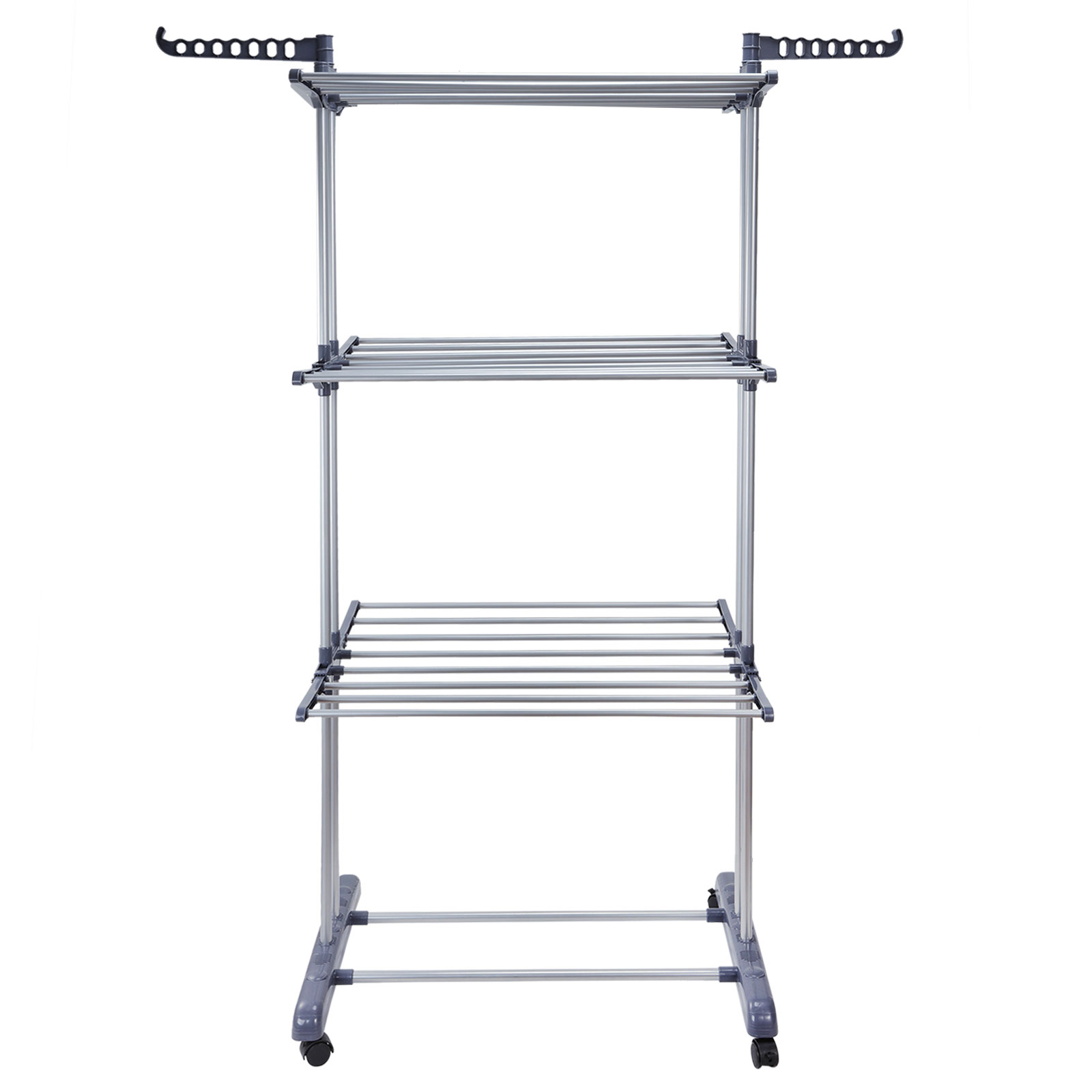 Foldable 3 Tier Clothes Airer Laundry Dryer Rack Indoor