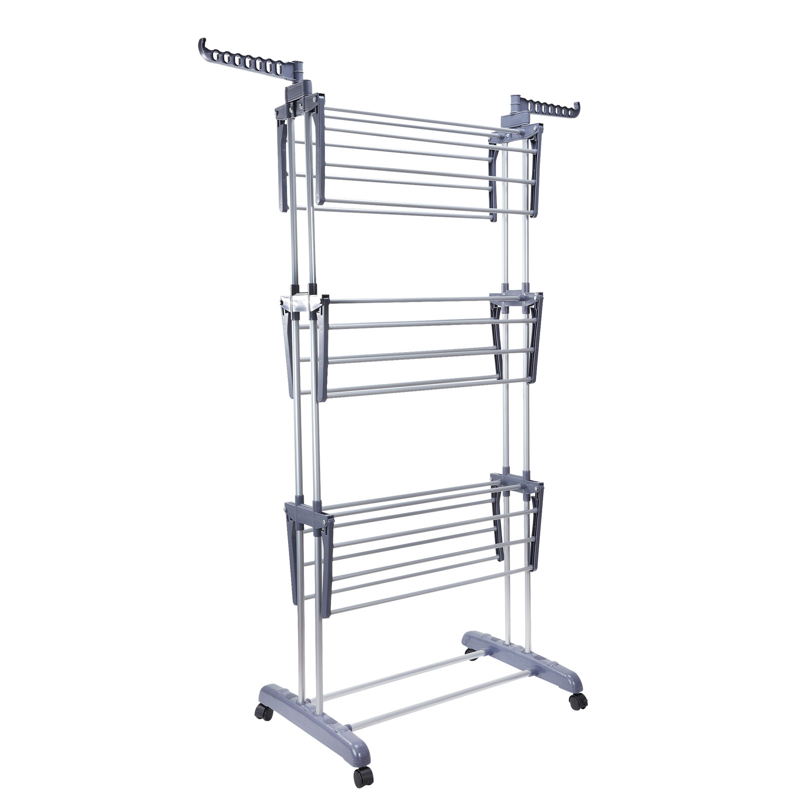 Clothes Dryer Rack ~ Foldable tier clothes airer laundry dryer rack indoor