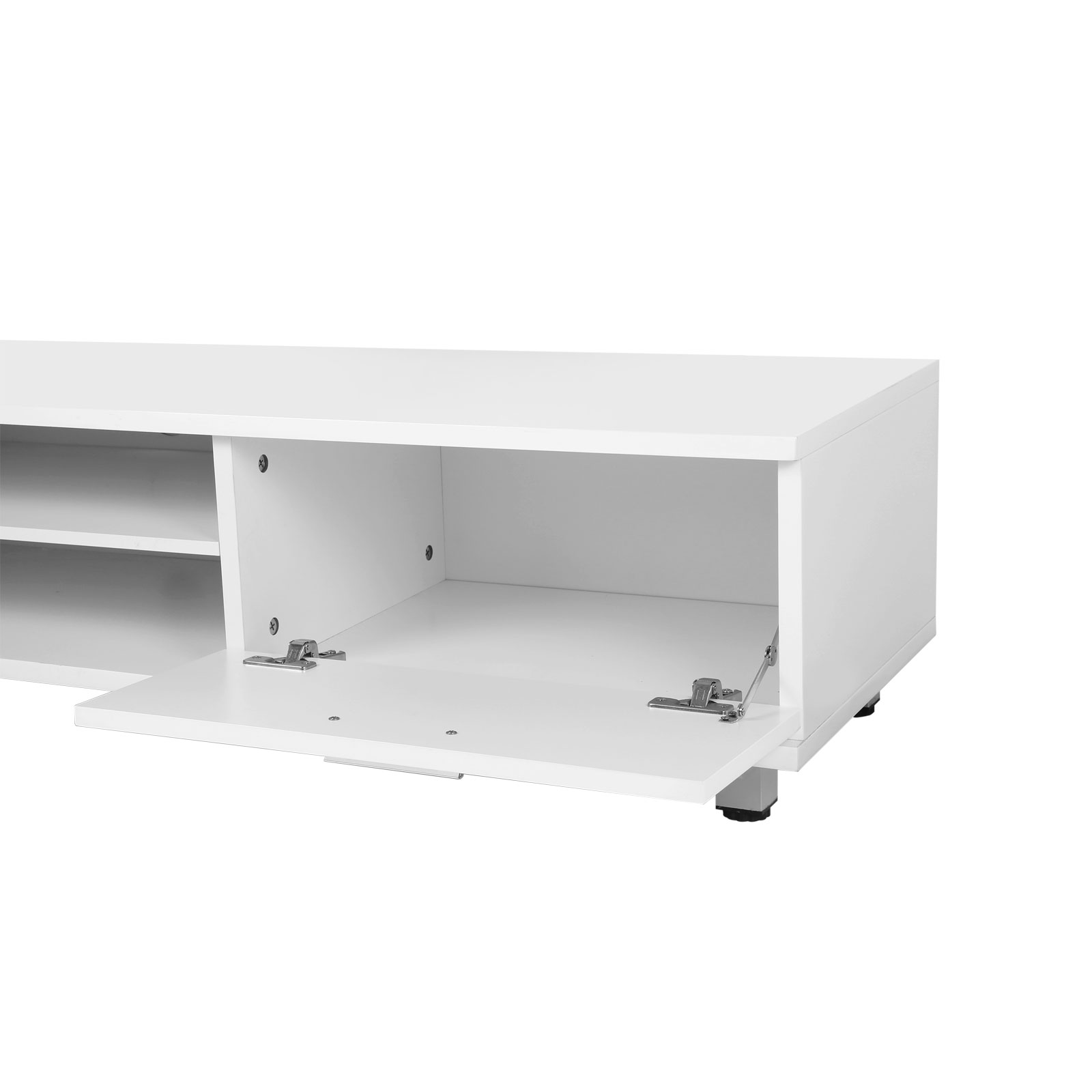 New modern high gloss tv unit cabinet stand media video for Sideboard lowboard