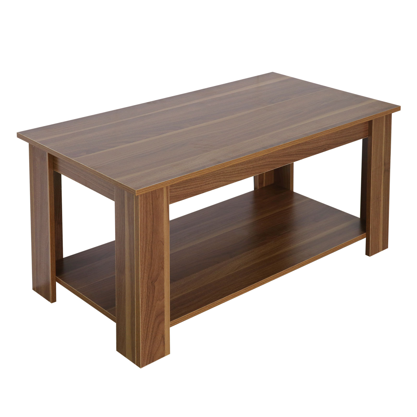 New Lift Up Top Coffee Table Living Room Oak Shelf Storage Wood Effect Furniture Ebay