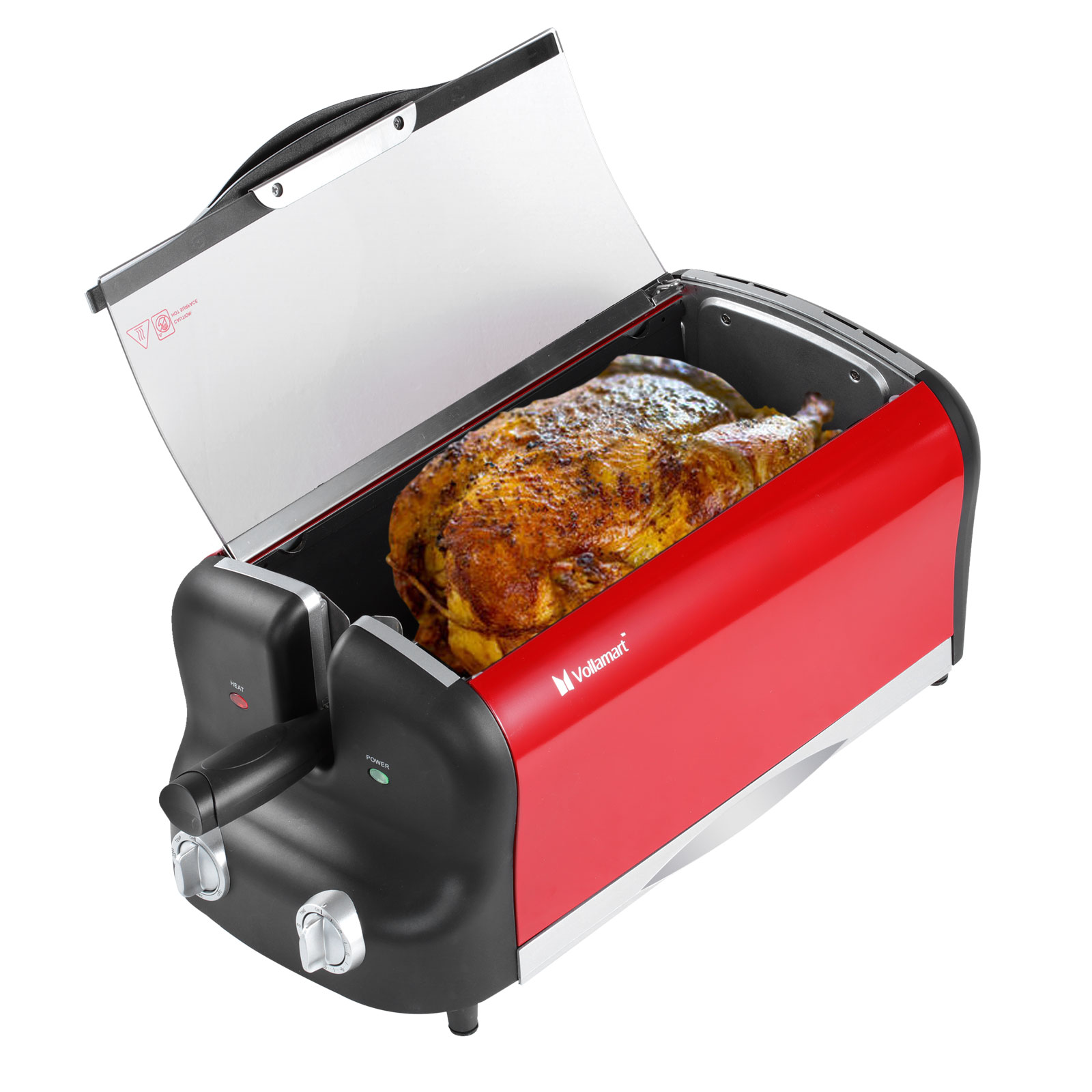 Air Fryer Lcd Digital Multifunction Convection Oven Electric Rotisserie Cooker Ebay
