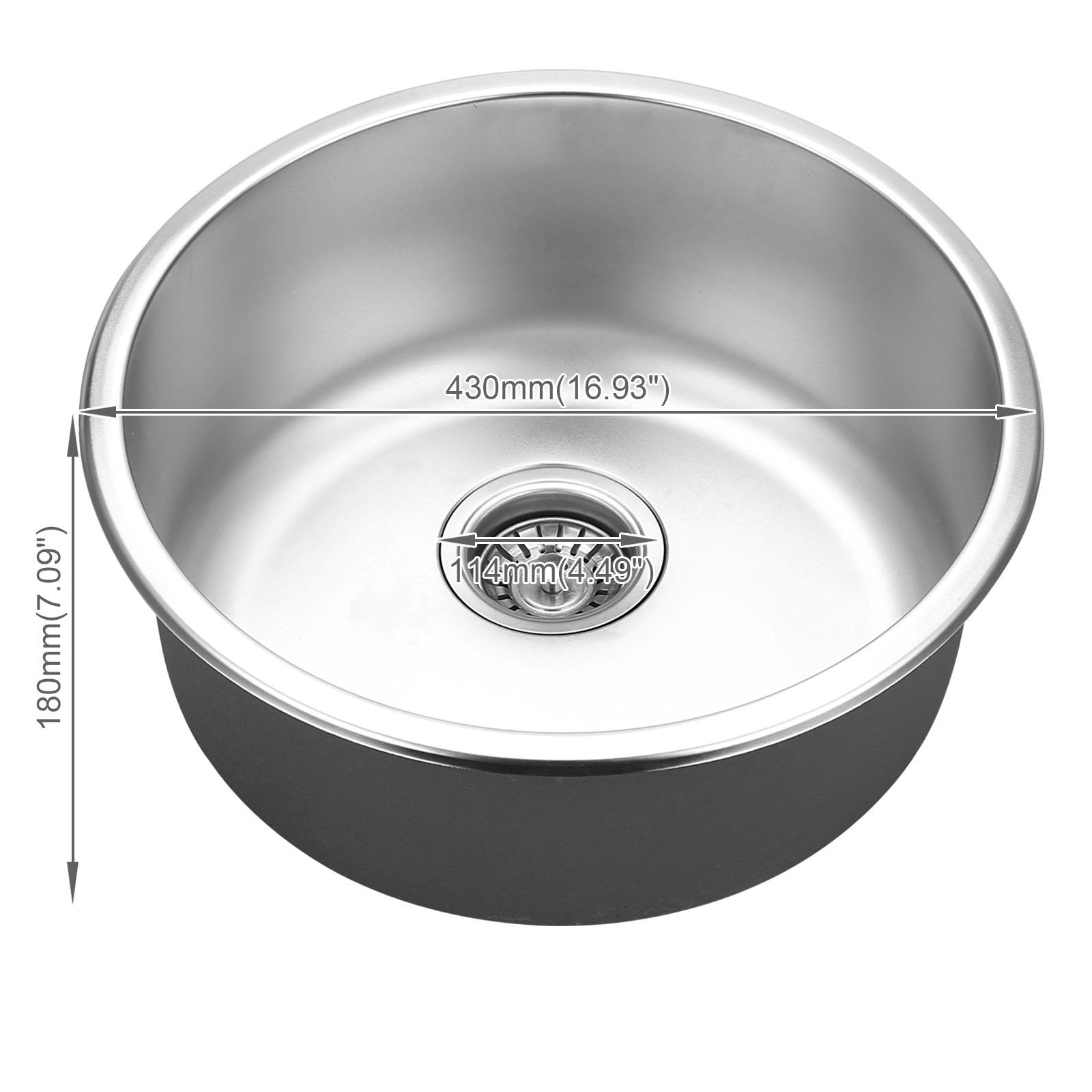 Edelstahlspüle Einbauspüle Küchenspüle Spülbecken Waschbecken ...